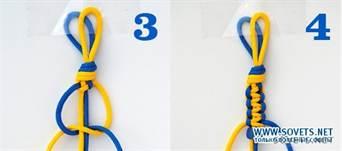 7-278 Как сделать браслет из ниток своими руками