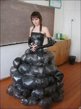 Костюм из мусорных пакетов своими руками фото 510