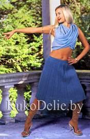 f2f78917451 Что понадобится для вязания такой юбки (из расчета размера 42-44)