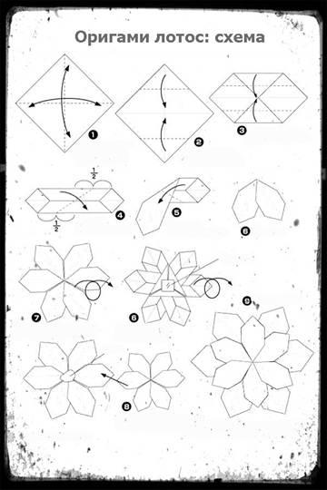 Цветок лотоса оригами hashtag on yeni. Mobi.