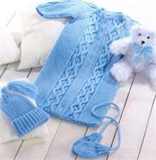 вязание спицами для новорожденных с описанием и фото осваиваем